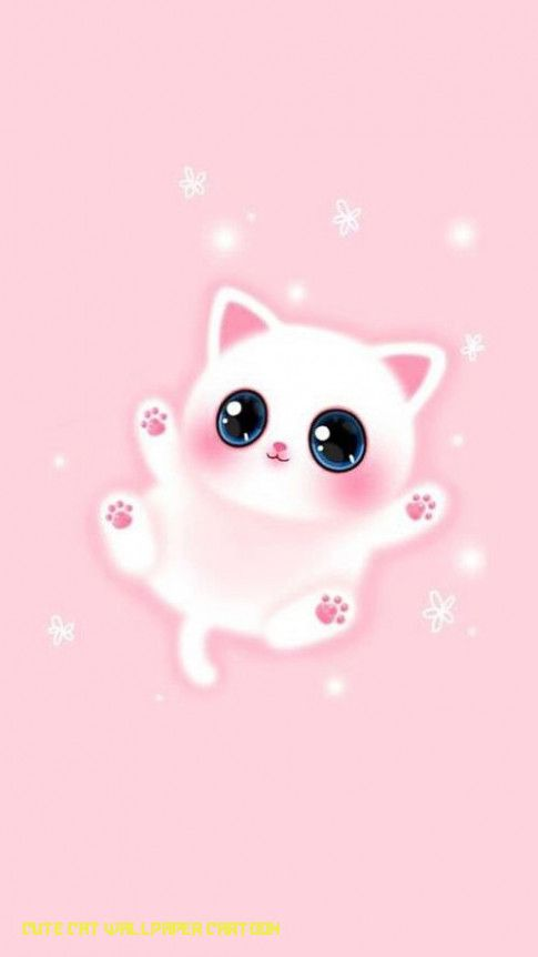 Cute Kitty Wallpaper Cartoon
