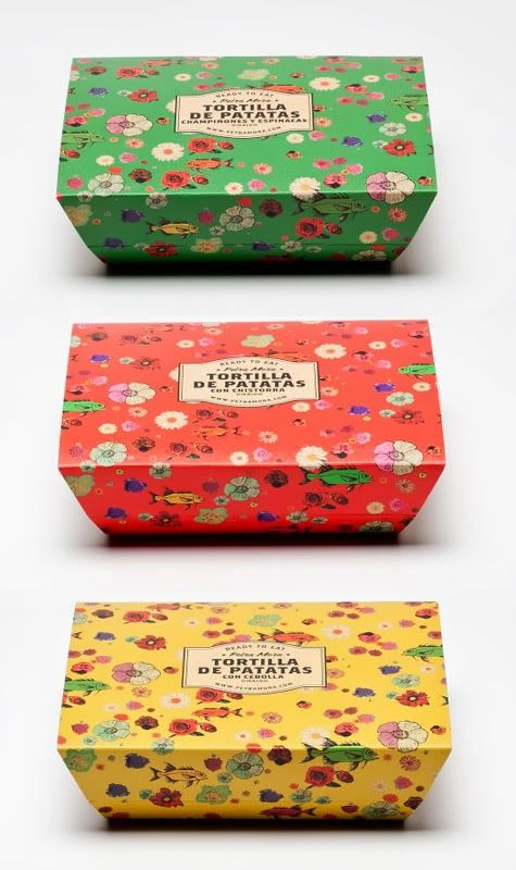 El packaging de Petra Mora minimarket
