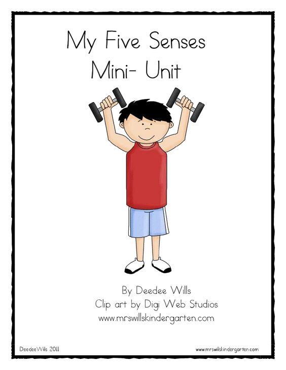 My Five Senses Mini-Unit FREE!