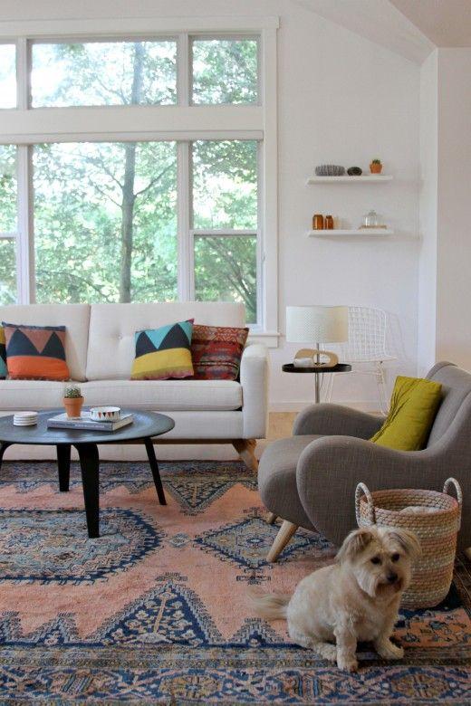 Kirsten Groves updated living room