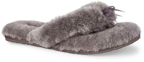 FLUFF FLIP FLOP GREY - Quarks Shoes