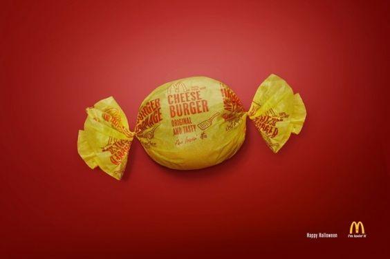 Mc Donald's Canada Burger Sweet for Halloween