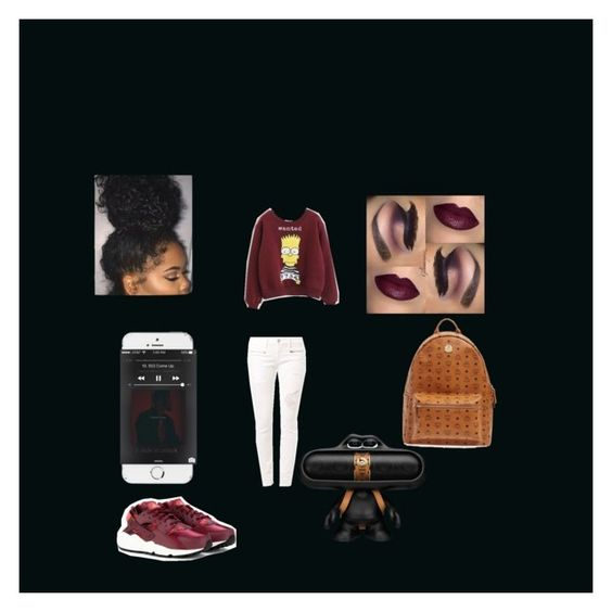 """""""Untitled #14"""" by augustsbabe ❤ liked on Polyvore featuring Jack Black, NIKE, True Religion, Beats by Dr. Dre, MCM, women's clothing, women, female, woman and misses"""