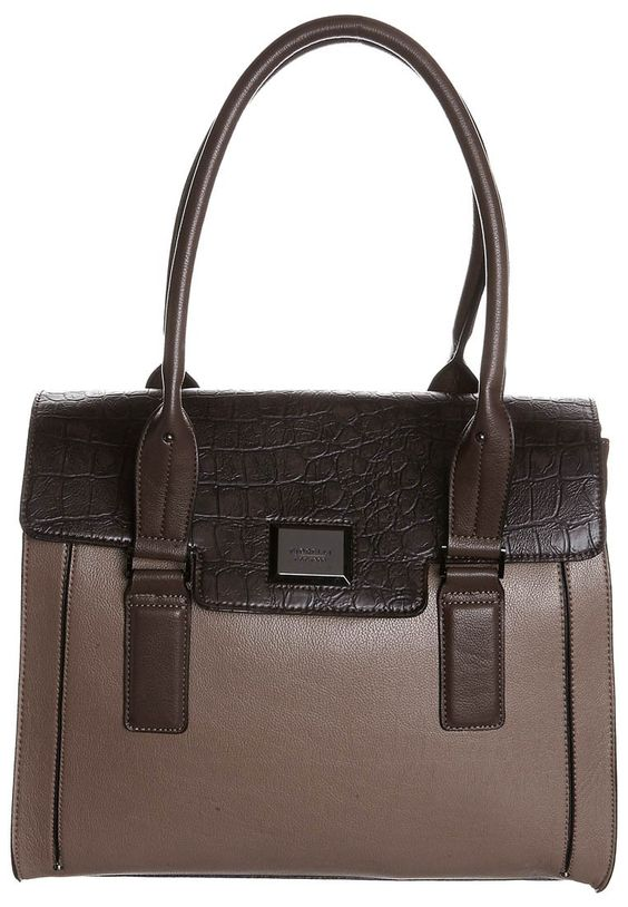 DAWN LEANNE - Shopping Bag - brown