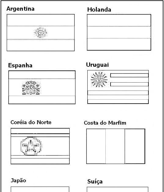 Bandeiras Dos Paises Para Pintar Costa Do Marfim Pintar