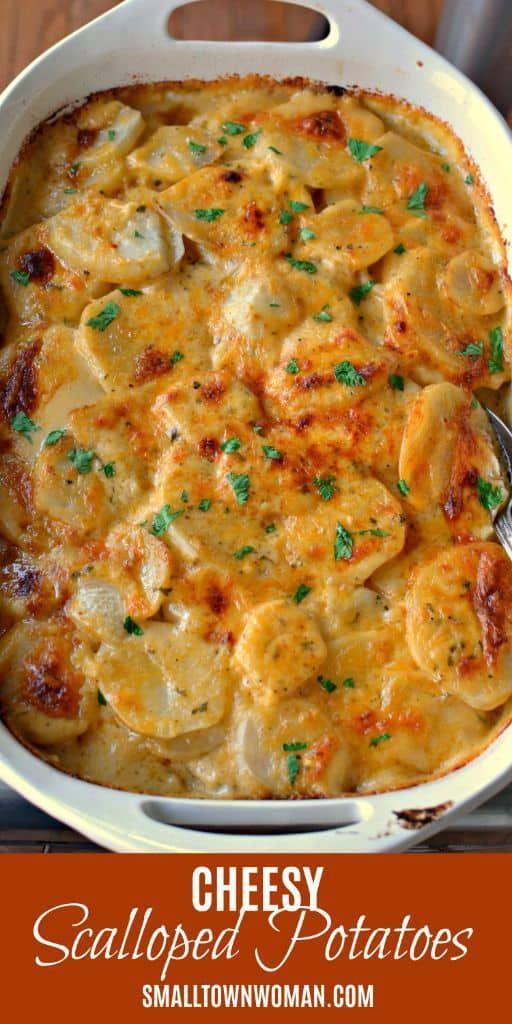 Cheesy Scalloped Potatoes Recipe Potato Recipes Side Dishes Recipes Food