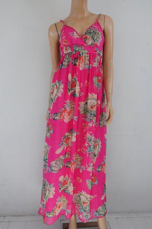 Sukienka Rozowa W Kwiaty 36 38 Apricot Vinted