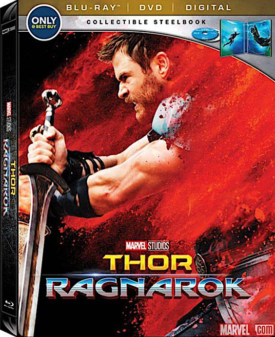 THOR RAGNAROK BEST BUY EXCLUSIVE BLU-RAY STEELBOOK (DISNEY)