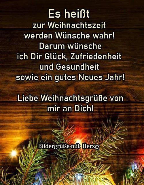 Pin Von Barbel Kirchhof Auf Weihnachtsspruche In 2020 Grusse Zu Weihnachten Weihnachtszeit Weihnachtswunsche