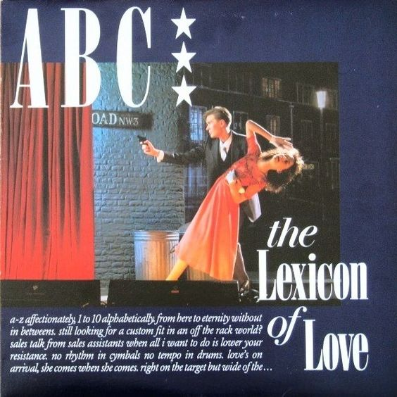 ABC - The Lexicon Of Love CANADA 1982 Lp mint-- with Inner