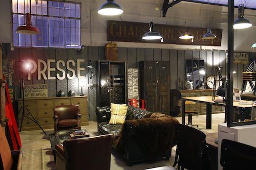 Decoracion Industrial Tienda ~   Style [De tiendas] Metal & Woods puro estilo industrial vintage