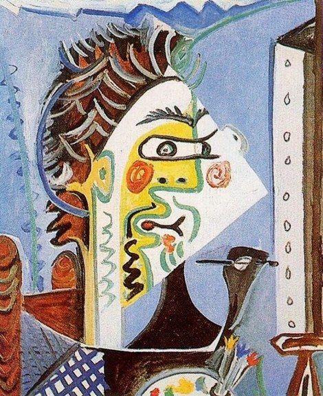 Pablo Picasso, 1963 Le peintre 1: