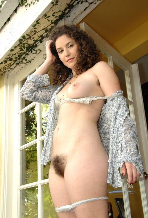 hairy bush girl rest the