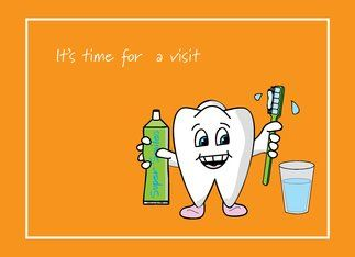 How long has it been since you last visited the dentist?  Do you make sure the kids go, then avoid going yourself?  Schedule some time now...   Go on!!