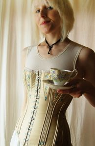 corset embroidery