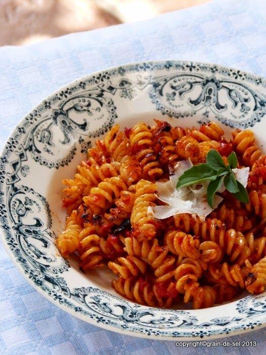 grain de sel - salzkorn: Pastakochen für die Buddenbohms: Penne all'arrabbi...
