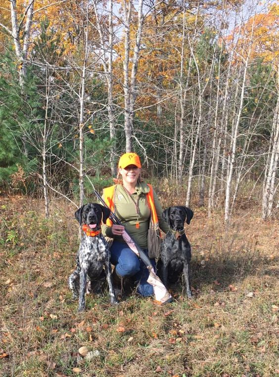 Prois Staffer, Sara Chisnell is out in the woods hunting up some grouse. What is your favorite grouse meal?! #proiswasthere Check out our performance hunting gear for women at www.proishunting.com