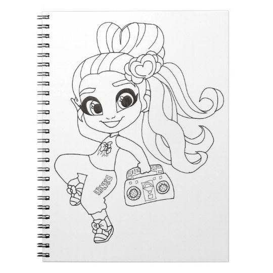 Hairdorables Coloring Notebook Zazzle Com Color Fun Crafts Sketches