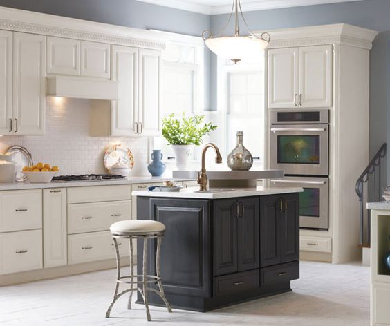 Simple White Kitchen Cabinets: Understated Elegance With A Kiss Of Modernity. The Simple