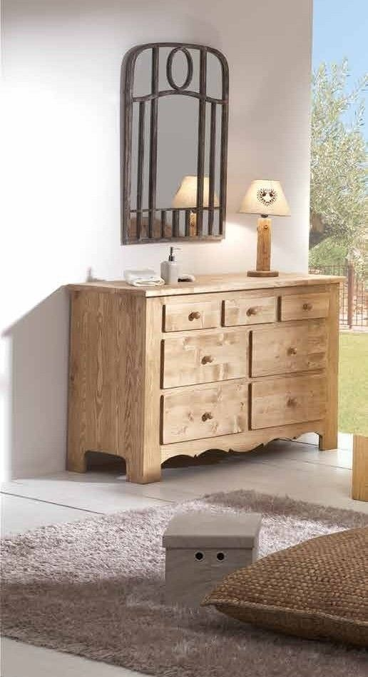 commode pin massif hannover commode