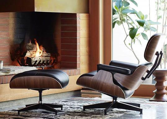 Inspiration Eames Lounge Chair Fauteuil Premium Meubles Concept En 2020 Salons En Cuir Fauteuil Lounge Eames Chaise Design