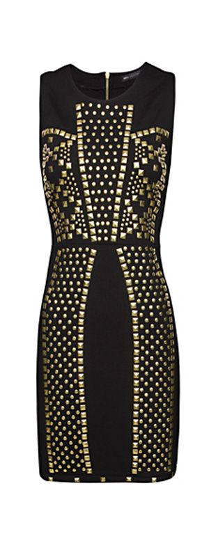 MANGO Spikes cocktail dress--this is fabulous!!