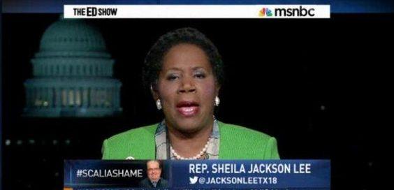 Sheila jackson lee flag on mars