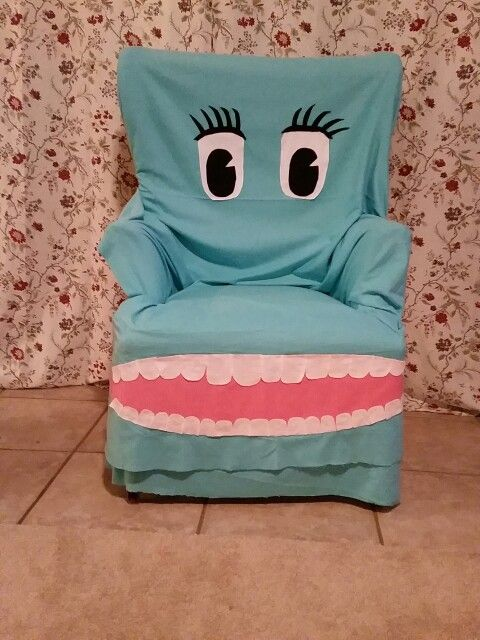 Diy Chairry from Pee Wee's Playhouse for a PeeWee Birthday Party Theme