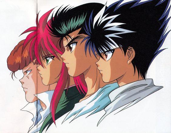 メインキャラクター4人の横並び