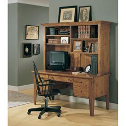 Broyhill Attic Heirlooms Desk With Hutch In 4 Colors