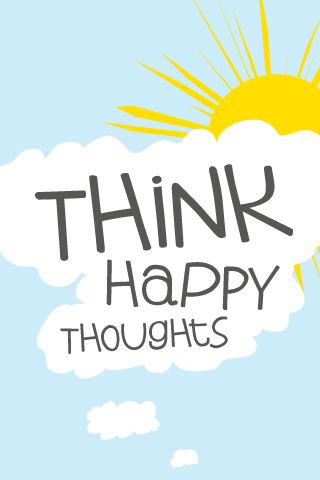 Think Happy Thoughts - Made by Andrew Till: