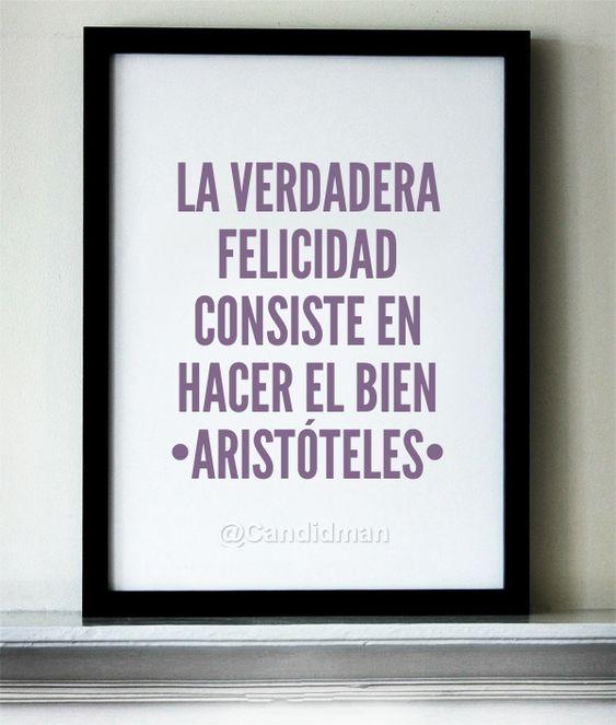 Aristóteles tiene muchas frases sabias, descúbrelas en este artículo. | frases de Aristóteles en español - pensamientos de Aristóteles. #frases #felicidad