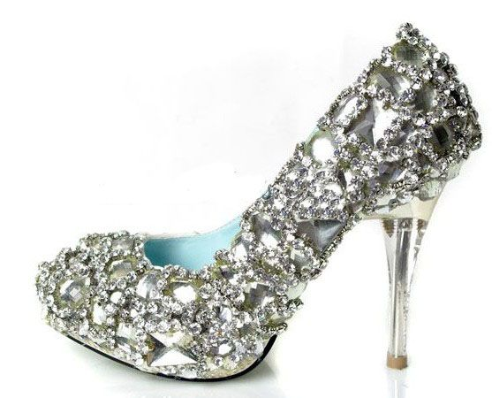 Image Detail for - Things to consider when looking to buy diamond white wedding shoes