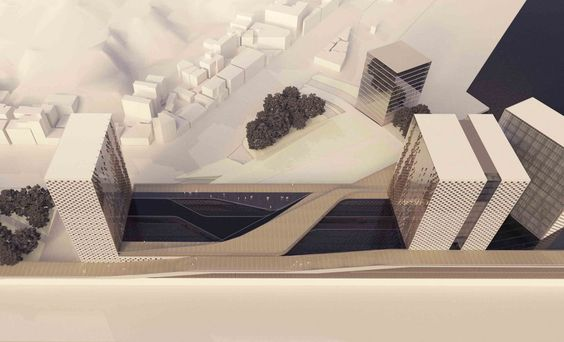 Keelung New Harbor Service Building Competition Entry (4)