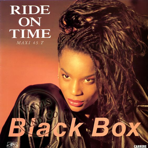Black Box – Ride on Time (single cover art)