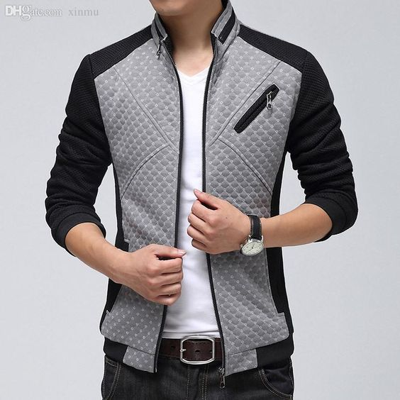 Wholesale and cool black leather bomber jacket, mens black coat and overcoat men with a large variety of choices can be found here. Different kinds of fall-new 2015 high quality bomber jacket men zipper printed patchwork designer mens casual outdoor college jacket chaqueta hombre 531 can be provided by aimea.