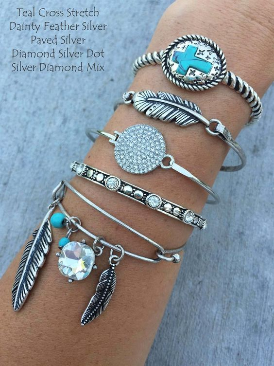 $5.99 | Over 50 Layering Bracelets | Shop this deal before it's Jane!
