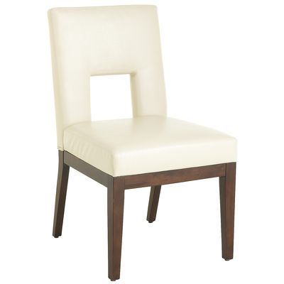 Bal harbor ivory dining chair dining chairs chairs and for Pier 1 living room chairs
