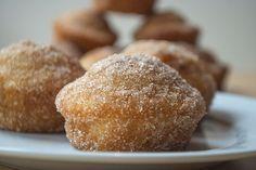 muffins die wie donuts schmecken mit zucker und zimt - großartige Idee!