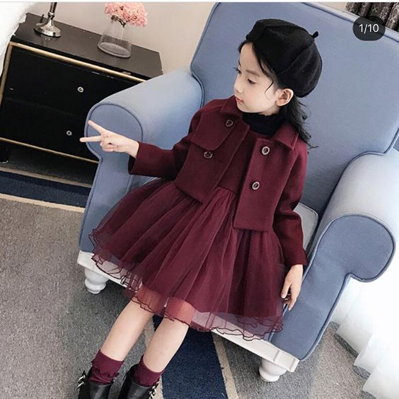 صور فساتين اطفال تجنن فساتين اطفال افراح جديدة صور عالية الجودة Tulle Skirt Fashion Peacoat
