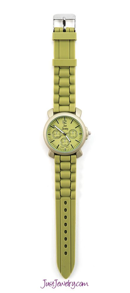 Our watches are the perfect way to add a perfect pop of color to any outfit! Olive You watch, $28.