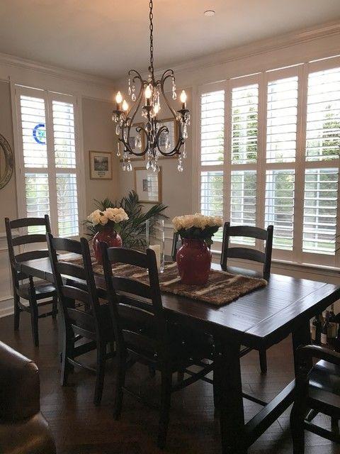 Celeste Crystal Chandelier Dining Room Light Fixtures Dining Table Black Home Decor