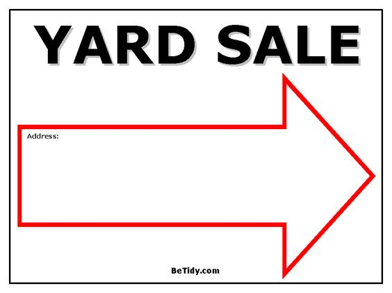 sale signs  yard sale signs and yard sales on pinterest
