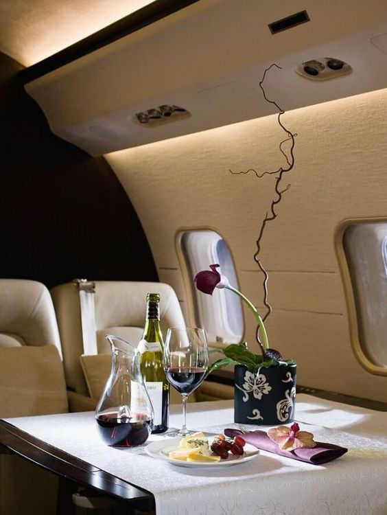 Club Millionaire  Private Jet For The Jet Setting Conisouer Polished Ends C
