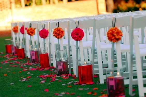 Great ceremony decor by High Fire Designs!