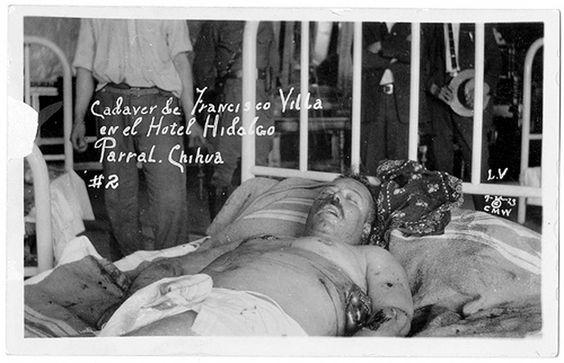 Muerte de Pancho Villa: