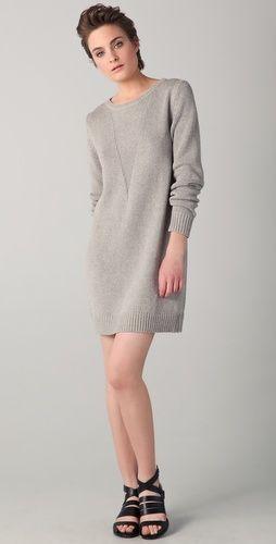 knit silk dress