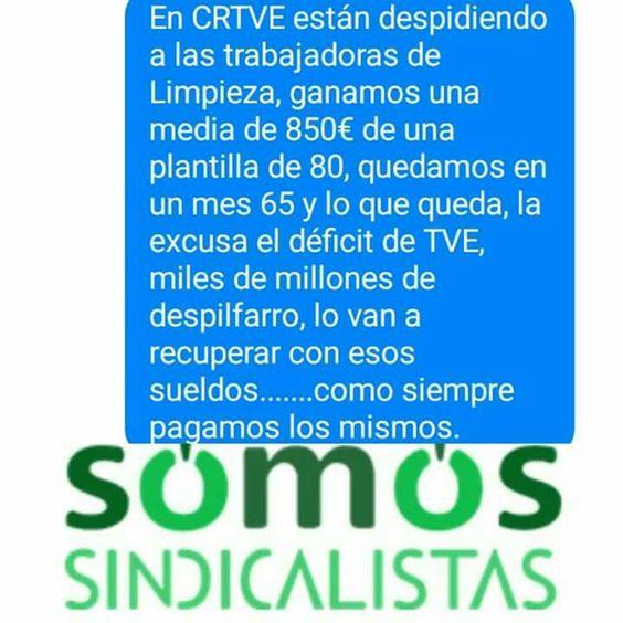 #despidos RTVE