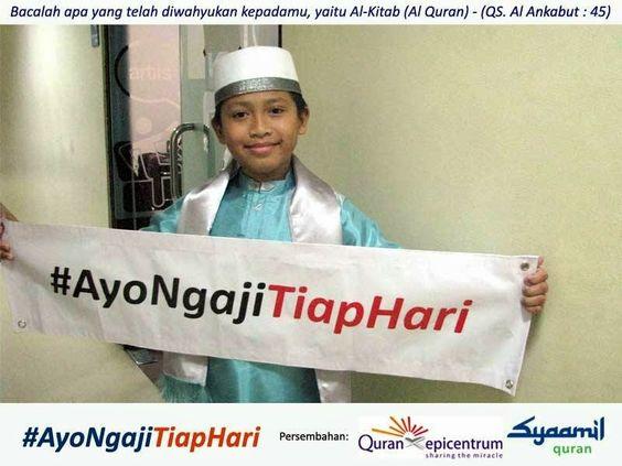 PULPEN-QU: Ust. Yusuf Mansur: Cara mengajari anak membaca alq...