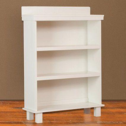 Bratt Decor manhattan bookcase white